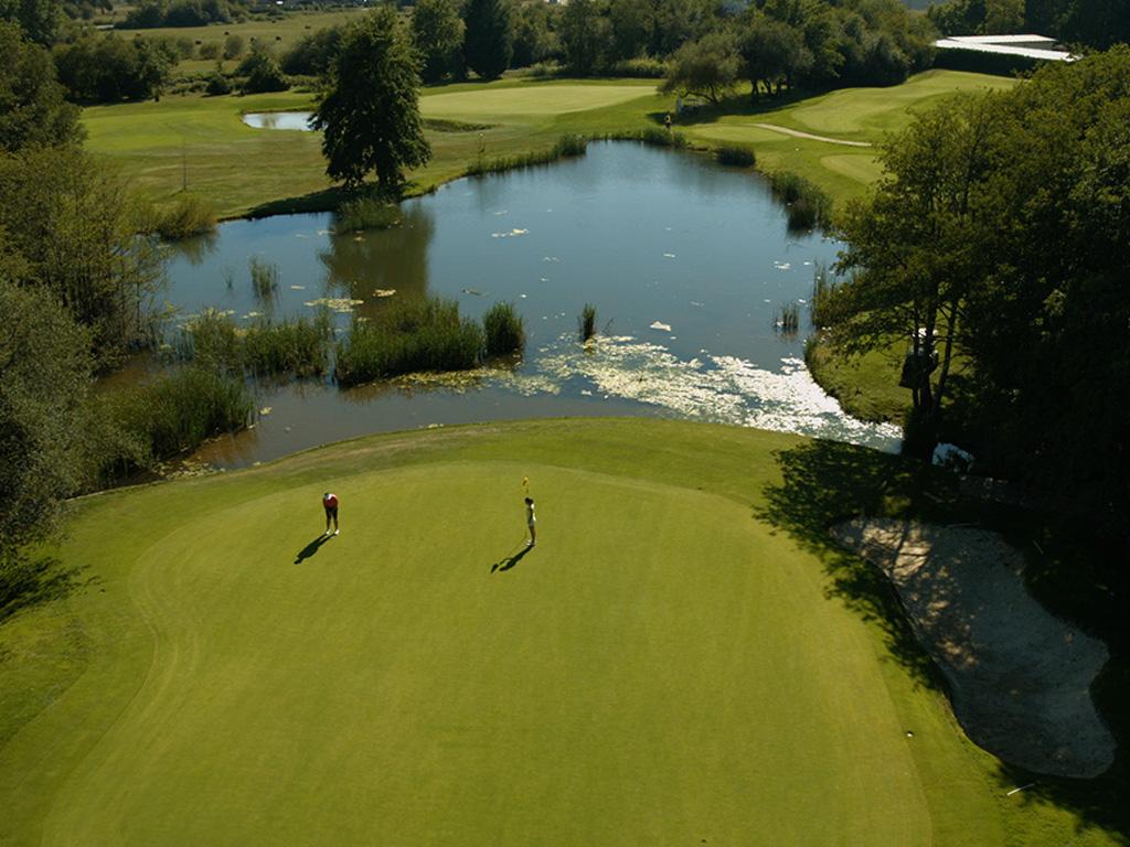 Fotografía aérea Golf Larrabea